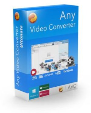 Any Video Converter Ultimate Crack 6.3.8 Serial key Free Download