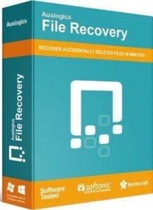 Auslogics File Recovery Crack 10.0 Plus License Key Full