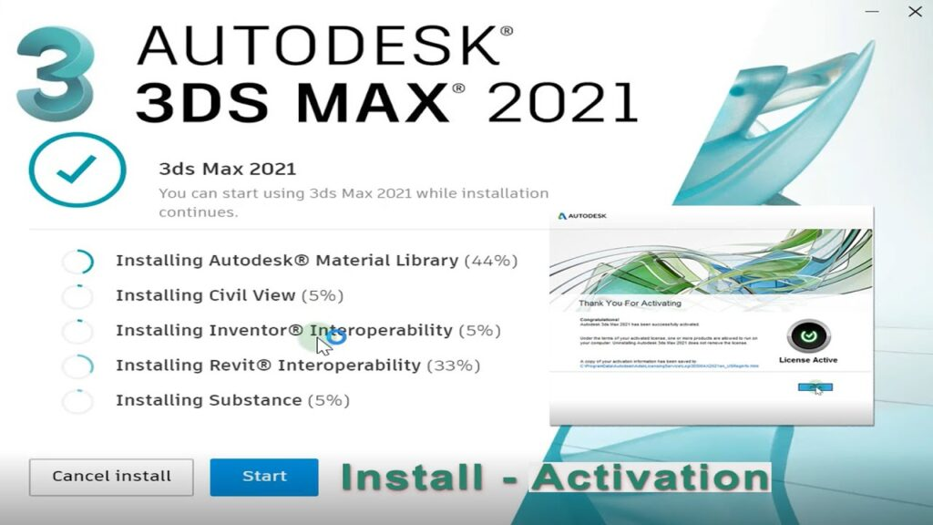 Autodesk 3ds Max 2021 Crack with Product Key Download