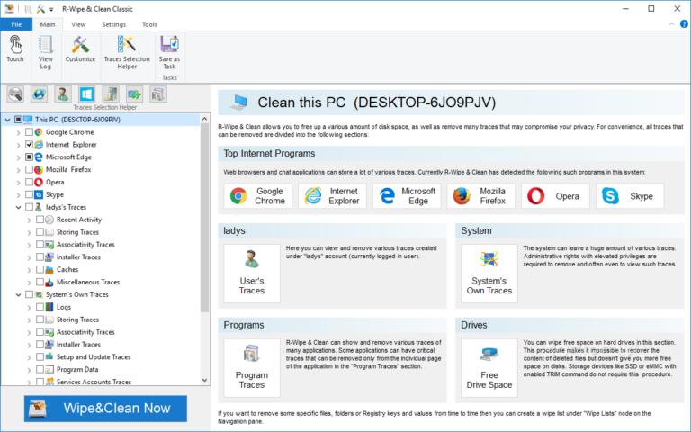 Download R-Wipe & Clean 20.0.2330 Crack - KoLomPC