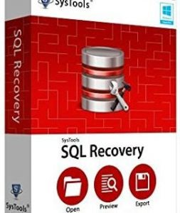 SysTools SQL Recovery v13.0 With Crack + Offline Activation 2021