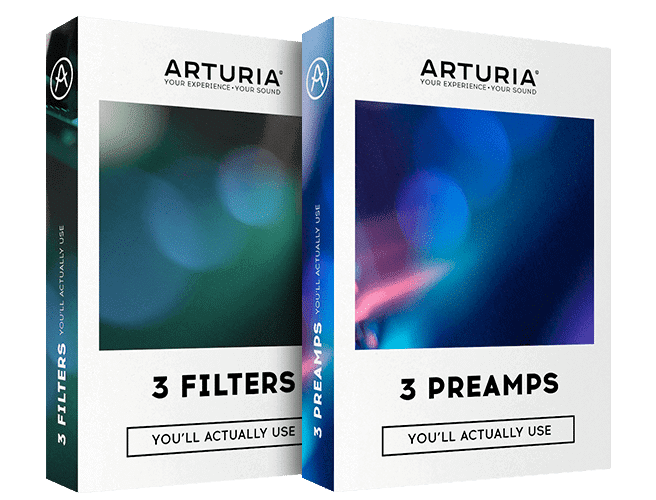 Arturia 3 Filters & 3 Preamps Crack Full Version Latest Download