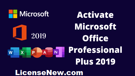 Microsoft Office 2019 Product Activation Key for Free [100%Working List]